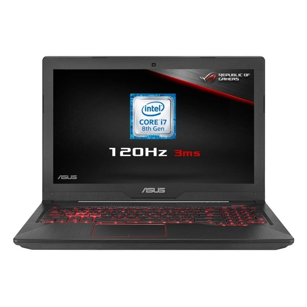 ASUS FX504GM-EN366T 15.6 Inch Full HD 120Hz Screen Gaming Laptop (Black)