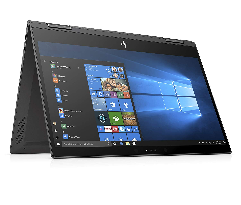 HP ENVY x360 13-ag0002na 13.3 Inch FHD Touch-Screen Convertible Laptop – (Black)
