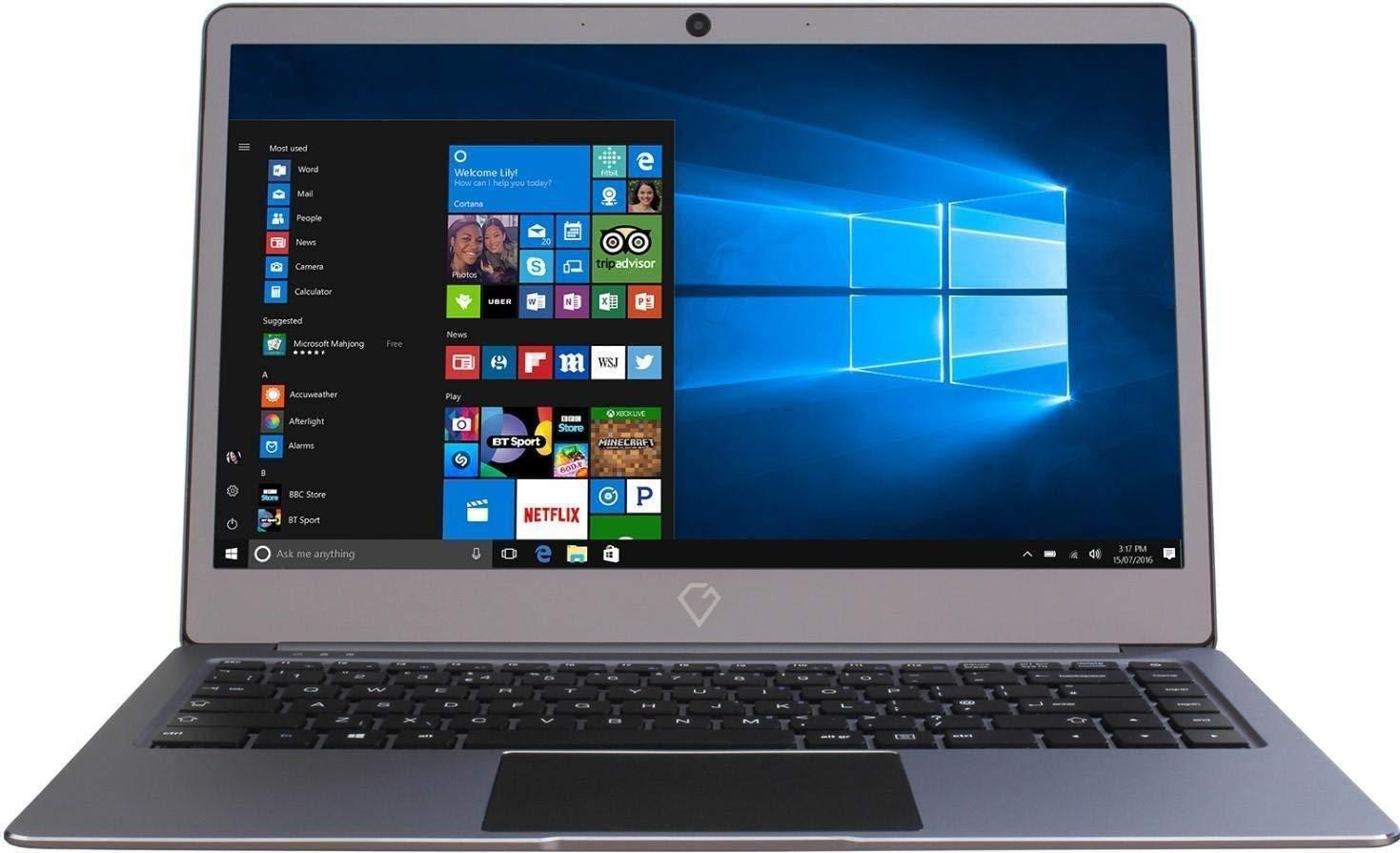 Gemini NC14 Ultra Slim aluminium Laptop