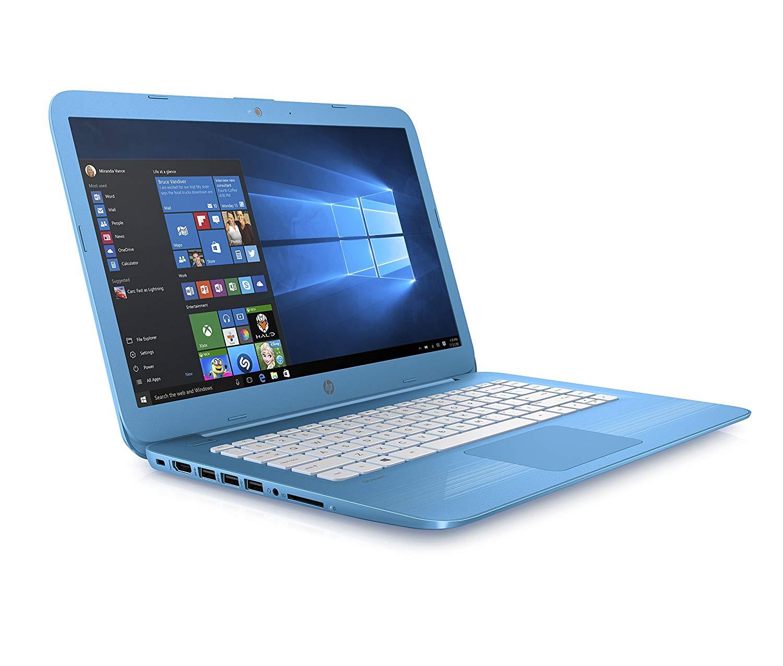 HP Stream 14-cb007na 14 Inch Laptop, (Aqua Blue)