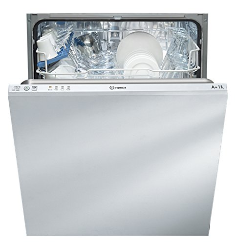Indesit DIF04B1 Fully Integrated Dishwasher A plus Energy Rating [Energy Class A+]