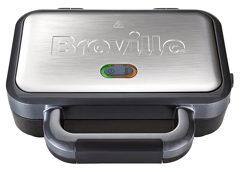 Breville VST041 Deep Fill Sandwich Toaster, Stainless Steel – Silver