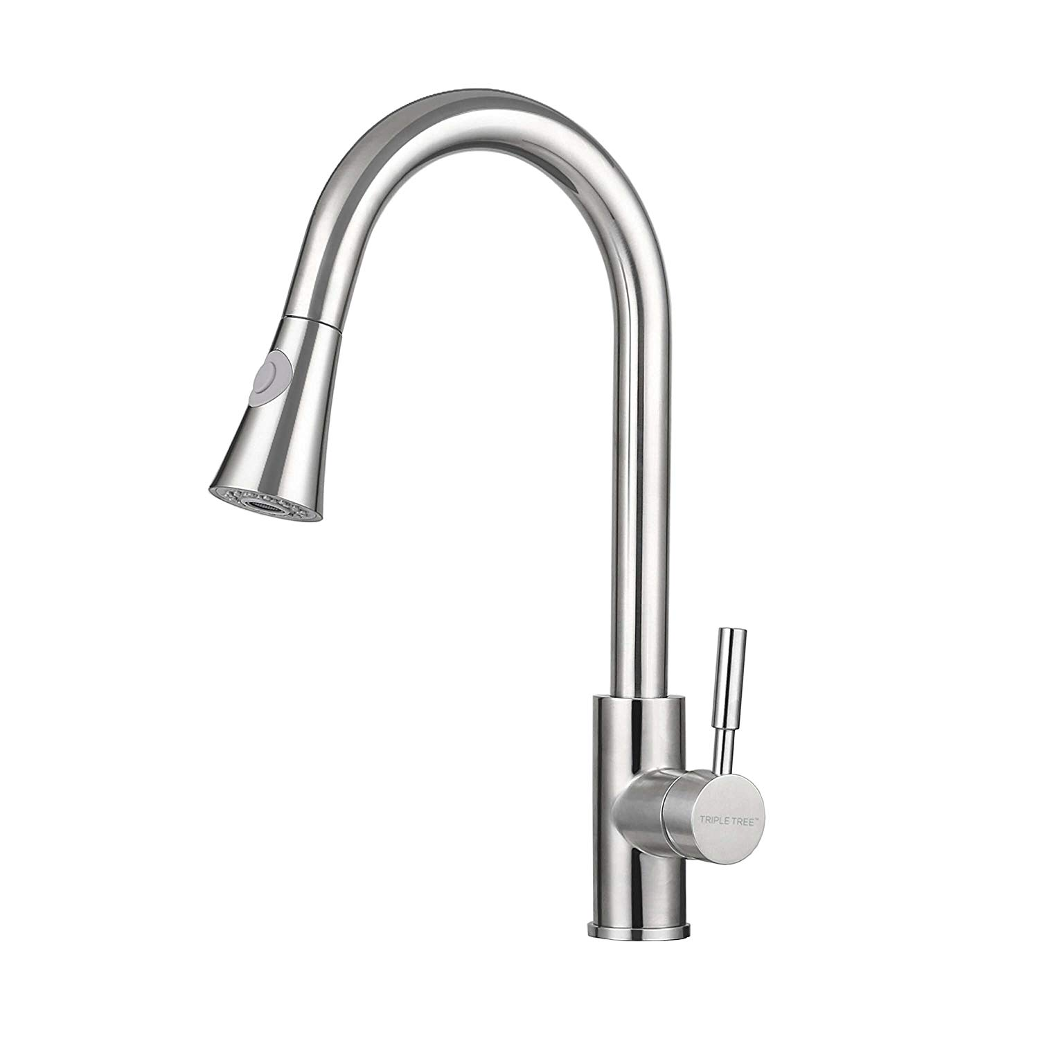 Monobloc Tap -Faucet Sprayer-Spring 360 Swivel Spout