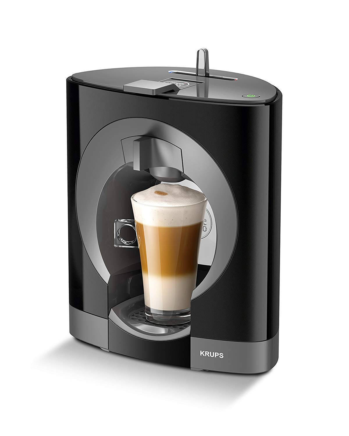 NESCAFE Dolce Gusto Oblo Coffee Machine by Krups – Black
