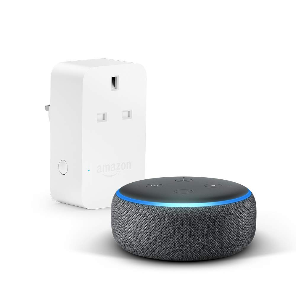 [Bundle] Echo Dot (3rd Gen) + Amazon Smart Plug