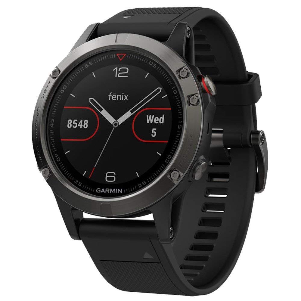 Garmin Fenix 5 GPS, Slate Grey with Black Band