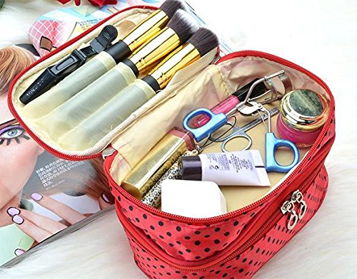 Double-Deck Toiletry Bag