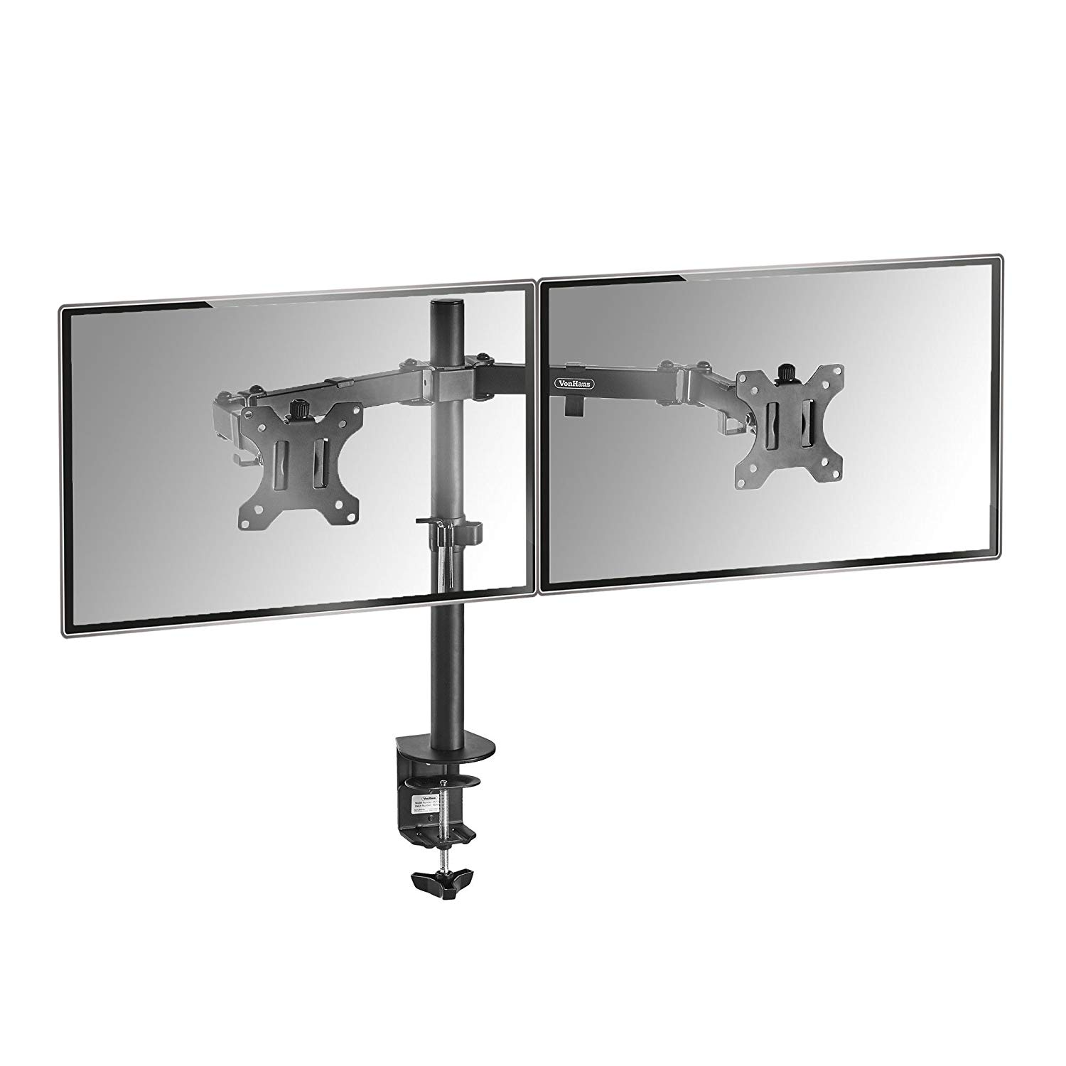 "VonHaus Dual Monitor Mount for 13-32"" Screens"