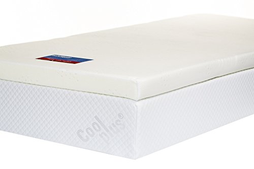 Memory Foam Mattress Topper with Cover