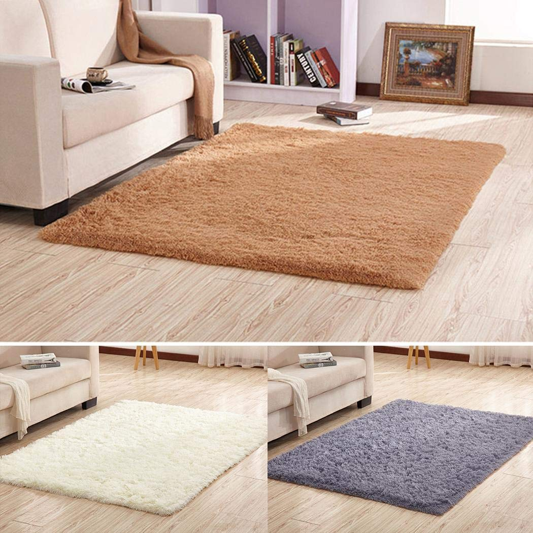 Soft Fluffy Indoor Area Rug £10.80