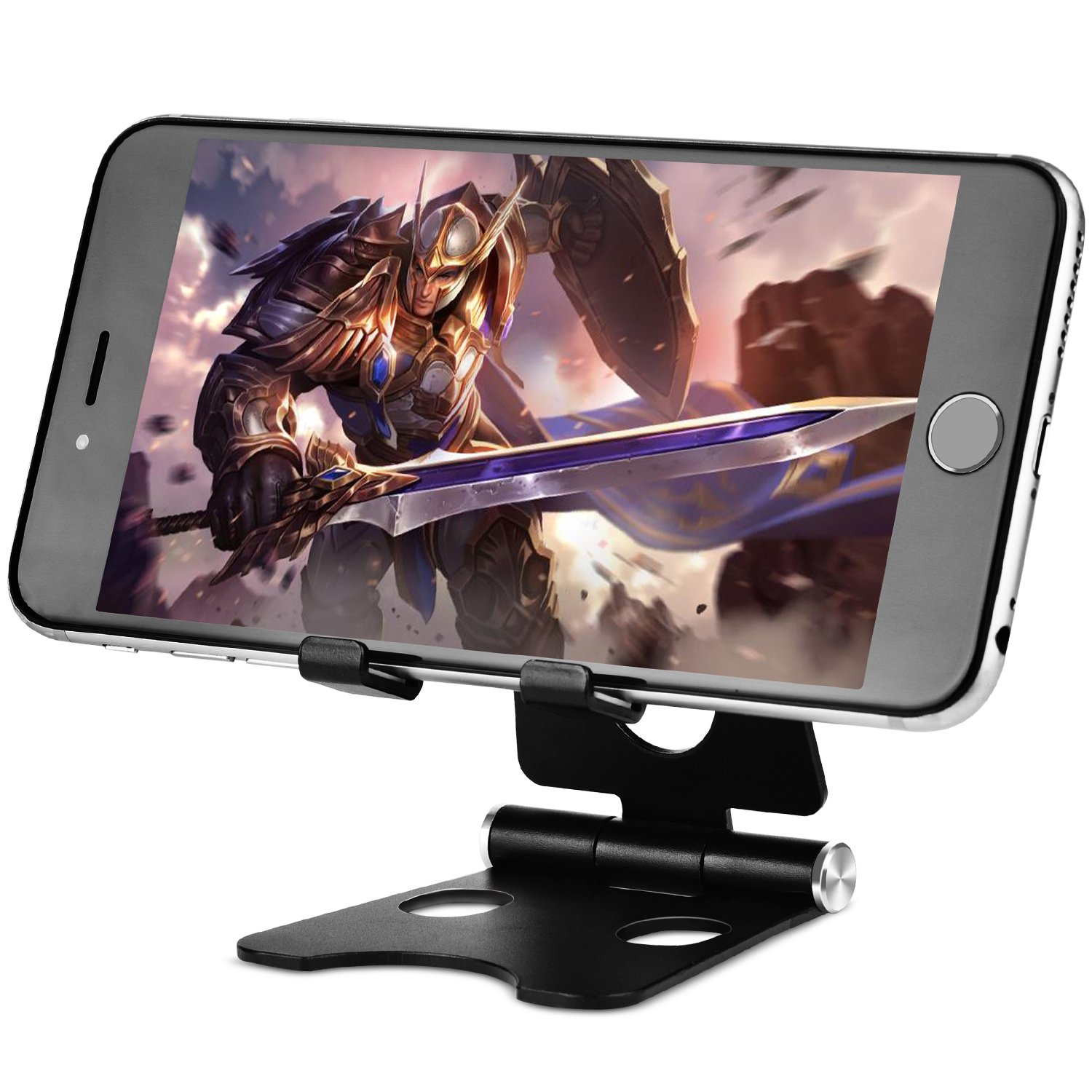 Cell Phone Stand Foldable Aluminium Universal Tablet Stand