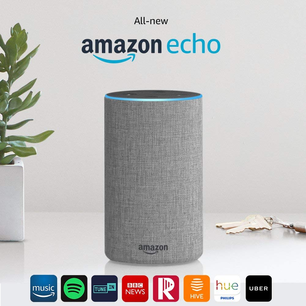 #Giveaway win Amazon Echo (2nd generation)