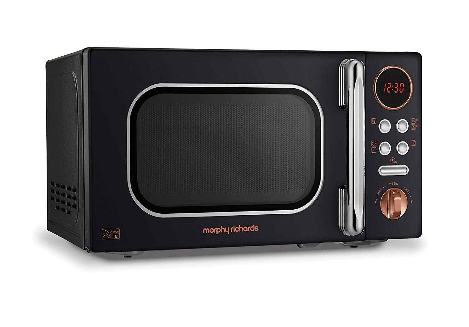 Morphy Richards 511503 Microwave, Rose Gold / Black