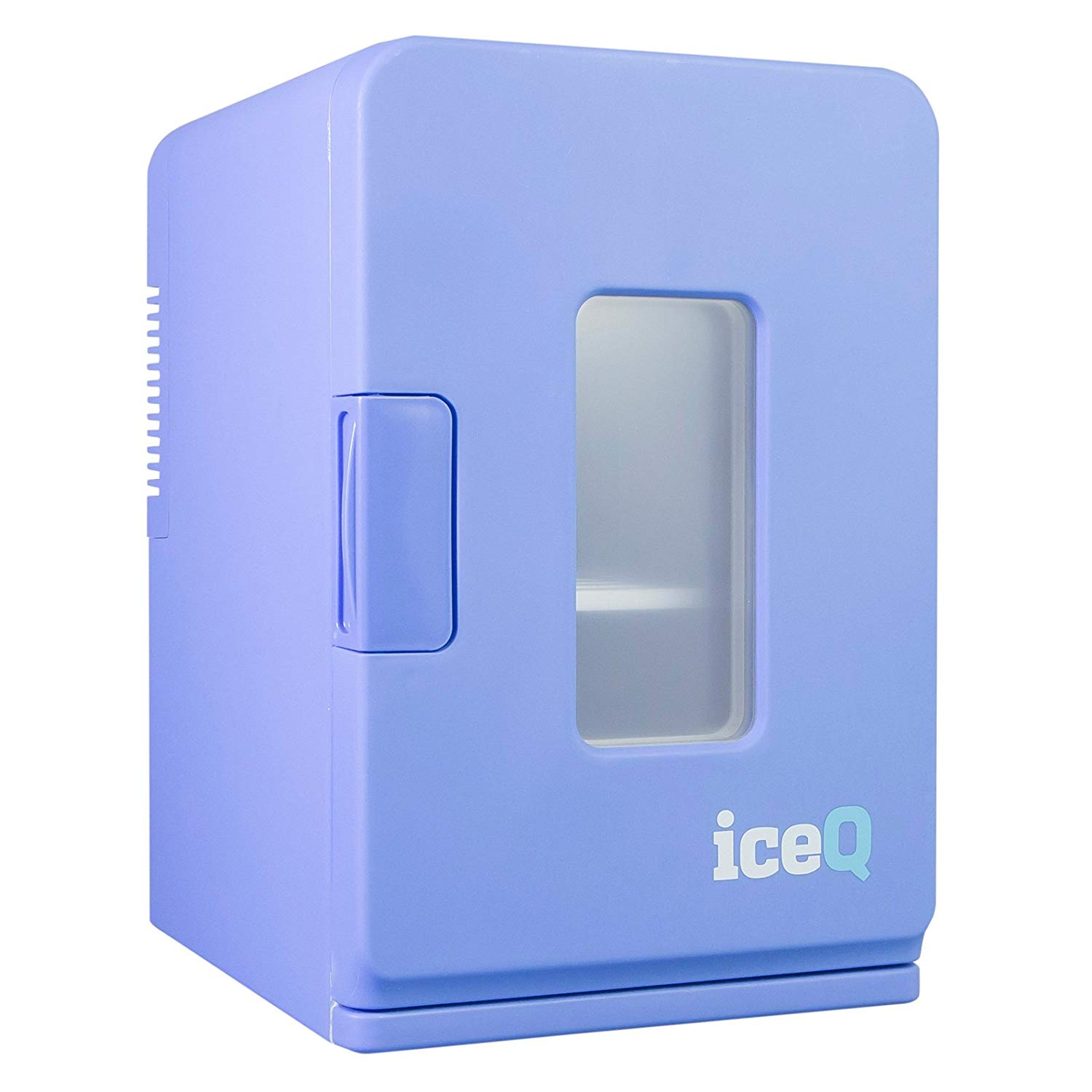iceQ 15 Litre Deluxe Portable Mini Fridge With Window – Blue