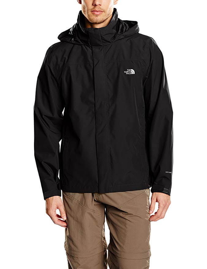 The North Face Men's Sangro Outdoor Hooded Jacket Navy blue only £56.10