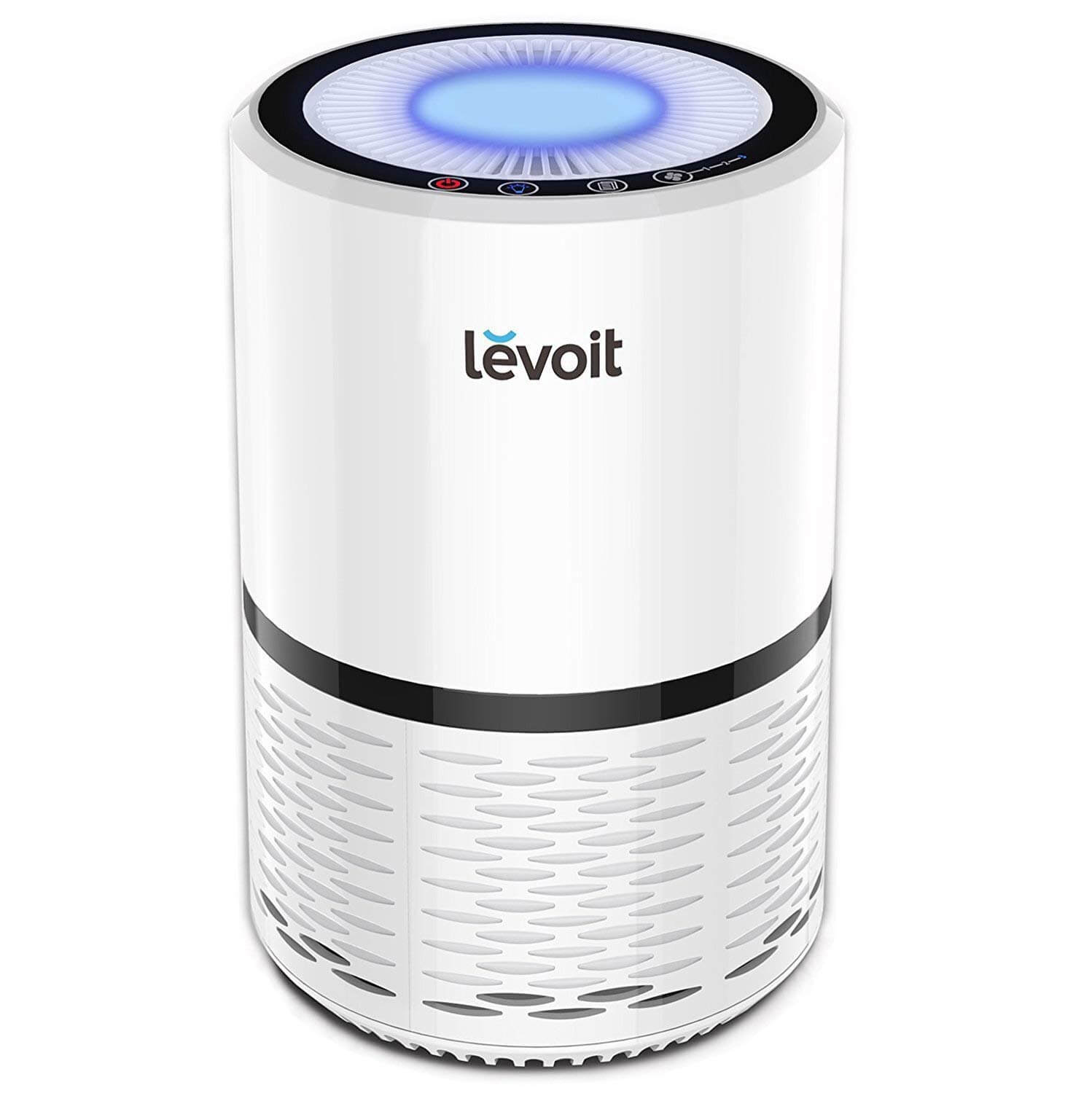 Levoit Air Purifier with True HEPA & Active Carbon Filters, Compact Purifiers Filtration