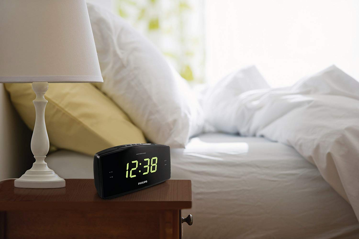 Philips AJ3400 Wake-Up Alarm Clock with Radio for Bedside or Kitchen for £21.99