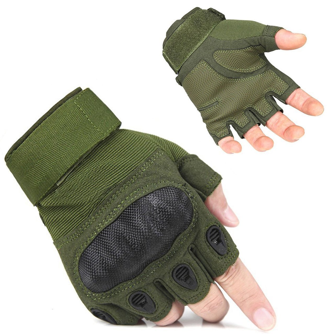 ADOGO Fingerless Cycling Gloves Outdoor Sports Light Gloves