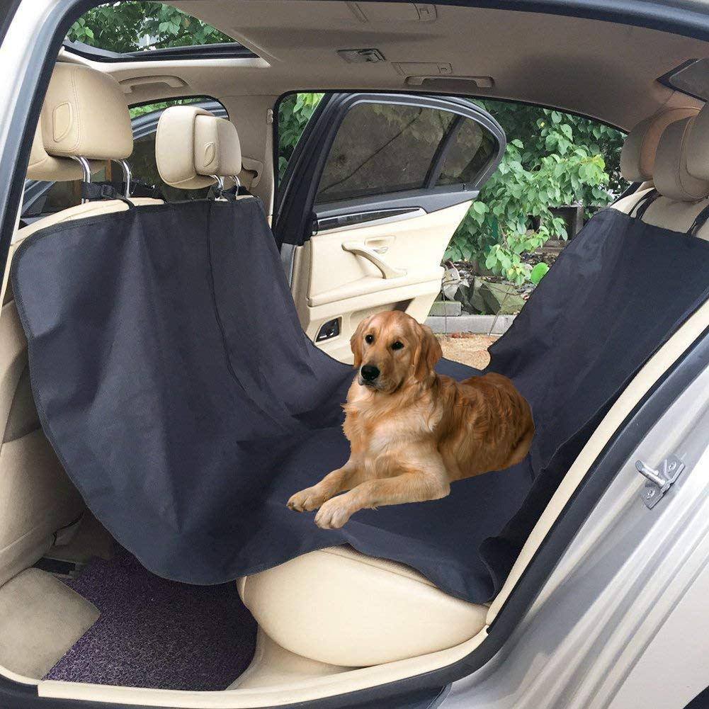 ADOGO Dog Car Seat Cover Pet Rear Seat Cover Waterproof