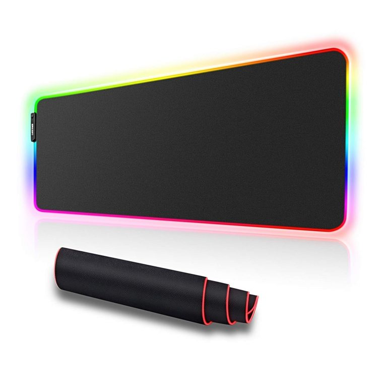 RGB gaming mouse pad(31.5X 11.8in)