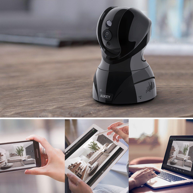 AUKEY IP Camera, Full HD 1920 x 1080p Wireless Indoor Security Camera