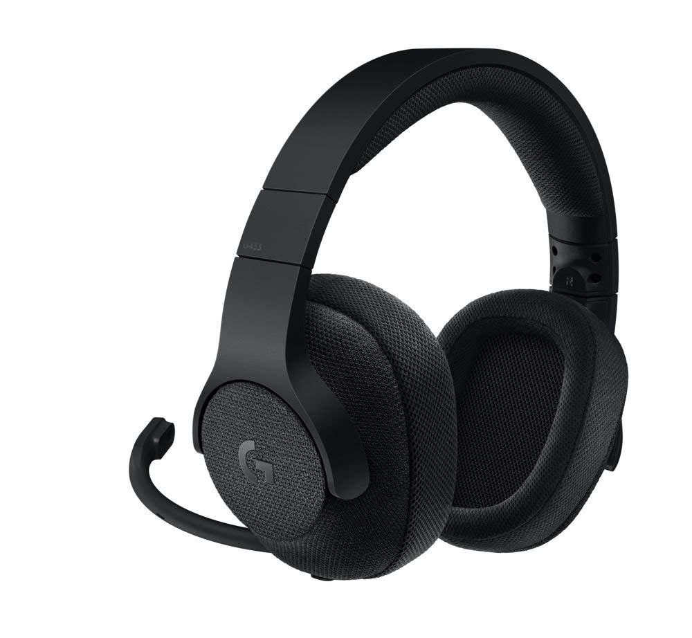 Logitech G433 Wired Gaming Headset, 7.1 Surround Sound for £53.99