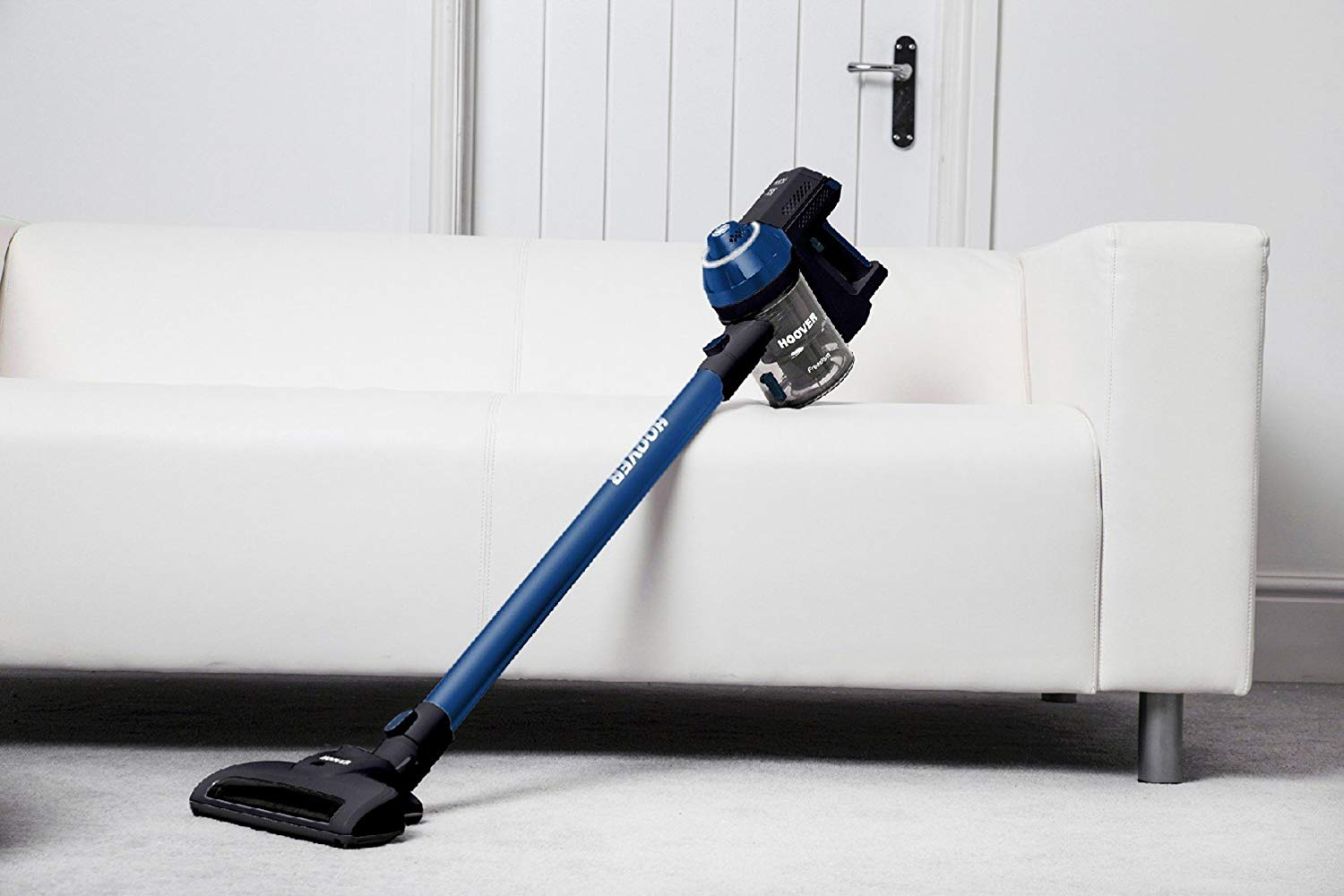 Hoover Freedom Lite 2in1 Cordless Stick Vacuum Cleaner [FD22L], Lightweight, Blue for £60.67