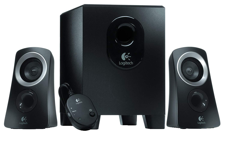 Logitech 980-000447 Speaker System – Black