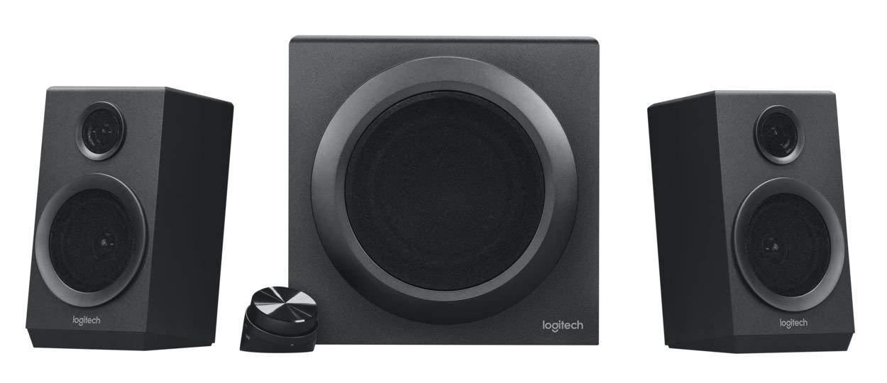 Logitech Z333 Multimedia Speakers – Black