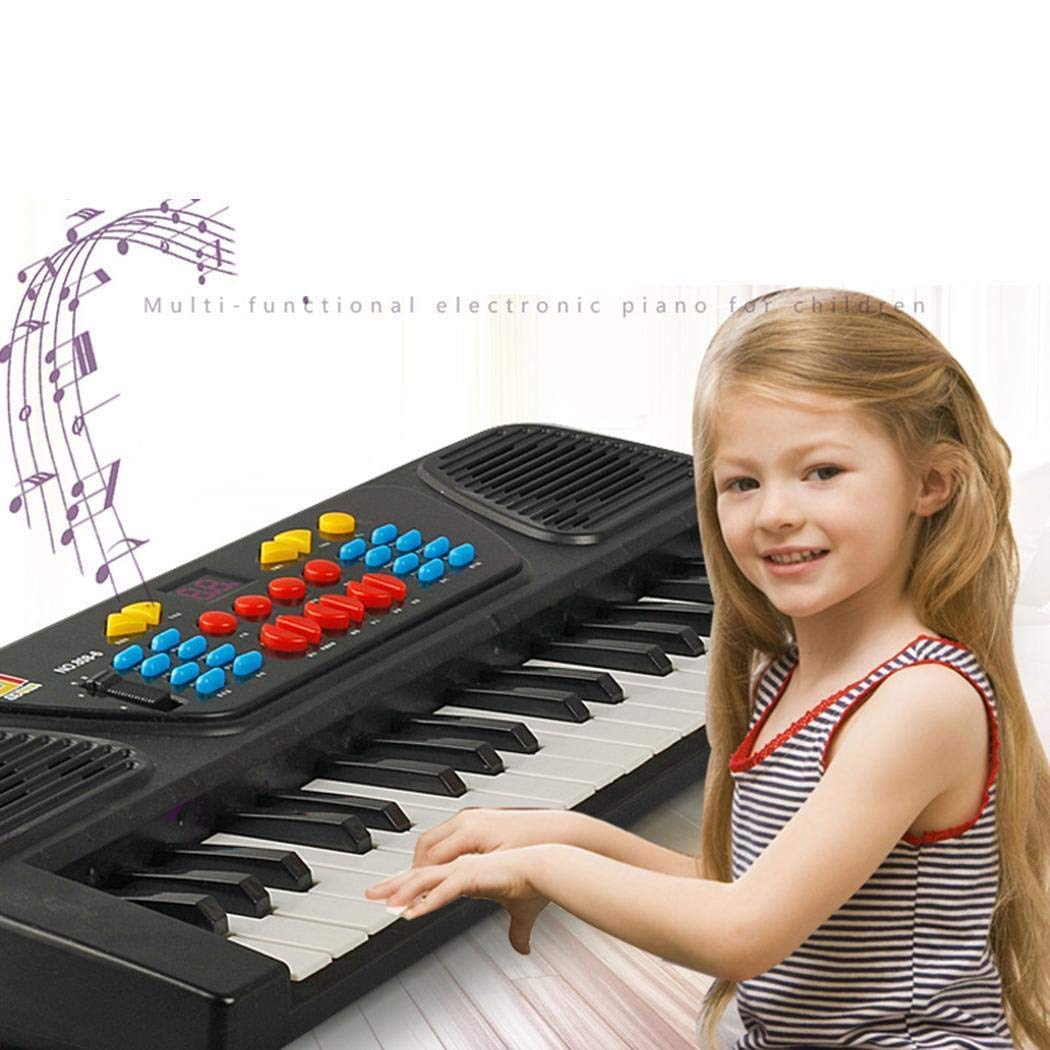 Kids Portable 37 Keys Multifunctional Electric Piano Keyboard