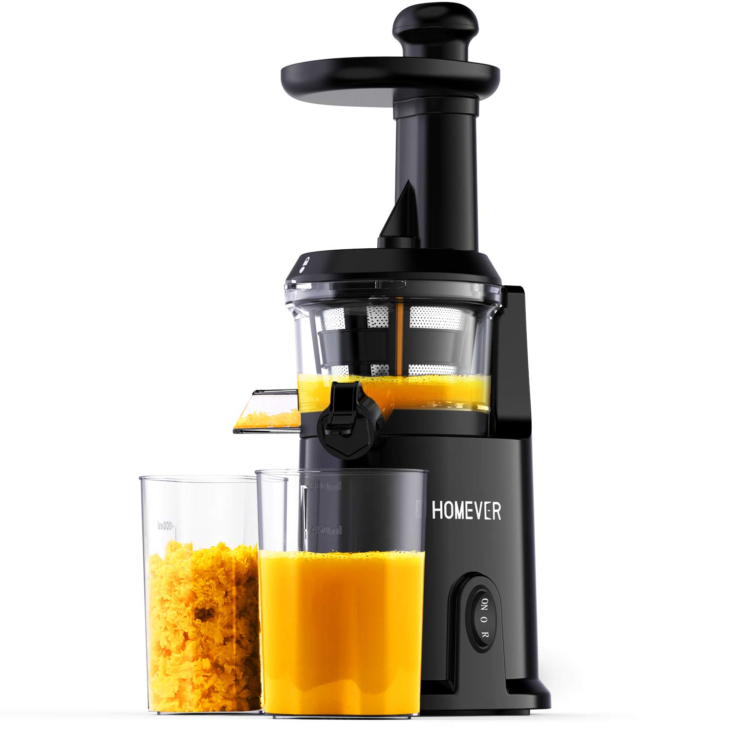 Slow Masticating Juice Extractor for Higher Nutrient and Vitamins