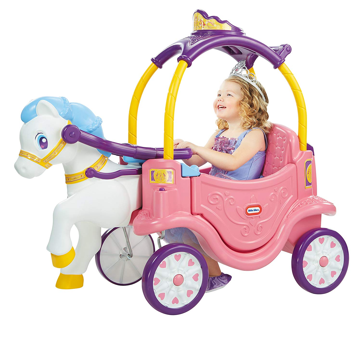 HOT DEAL! Little Tikes Princess Horse & Carriage