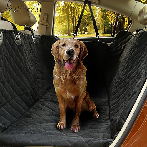 Dog Car Seat Cover Waterproof Non-slip Back Seat Protector Dog Travel Hammock for All Cars