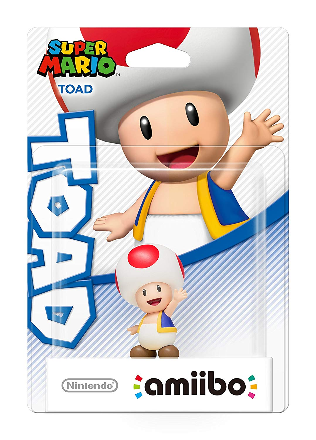 Toad amiibo – Super Mario Collection (Nintendo Wii U/3DS/Switch)