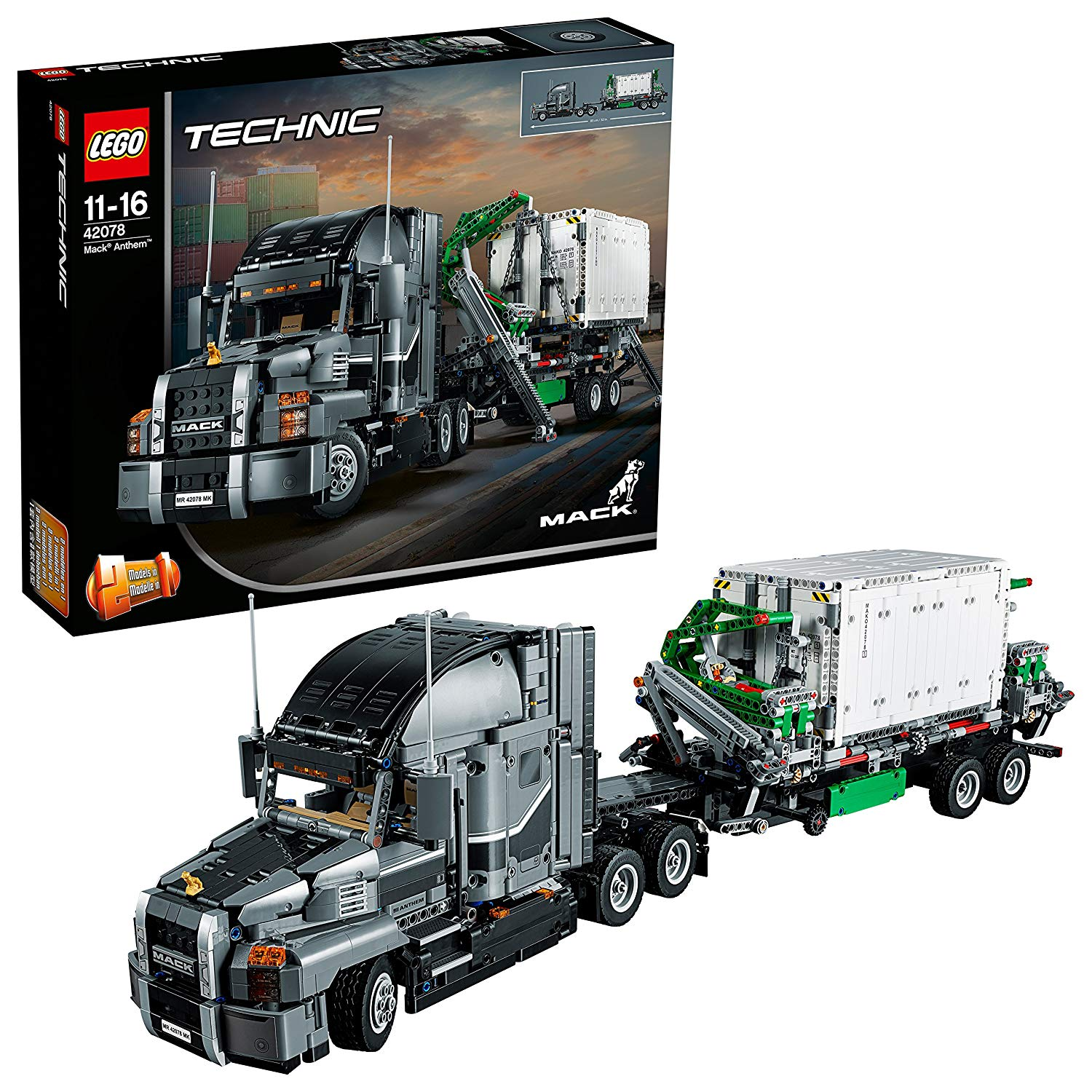 LEGO 42078 Technic Mack Anthem Toy Truck – £88.19