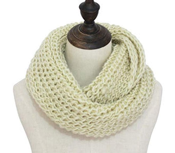 Outrip Thick Knitted Winter Warm Infinity Circle Loop Scarf