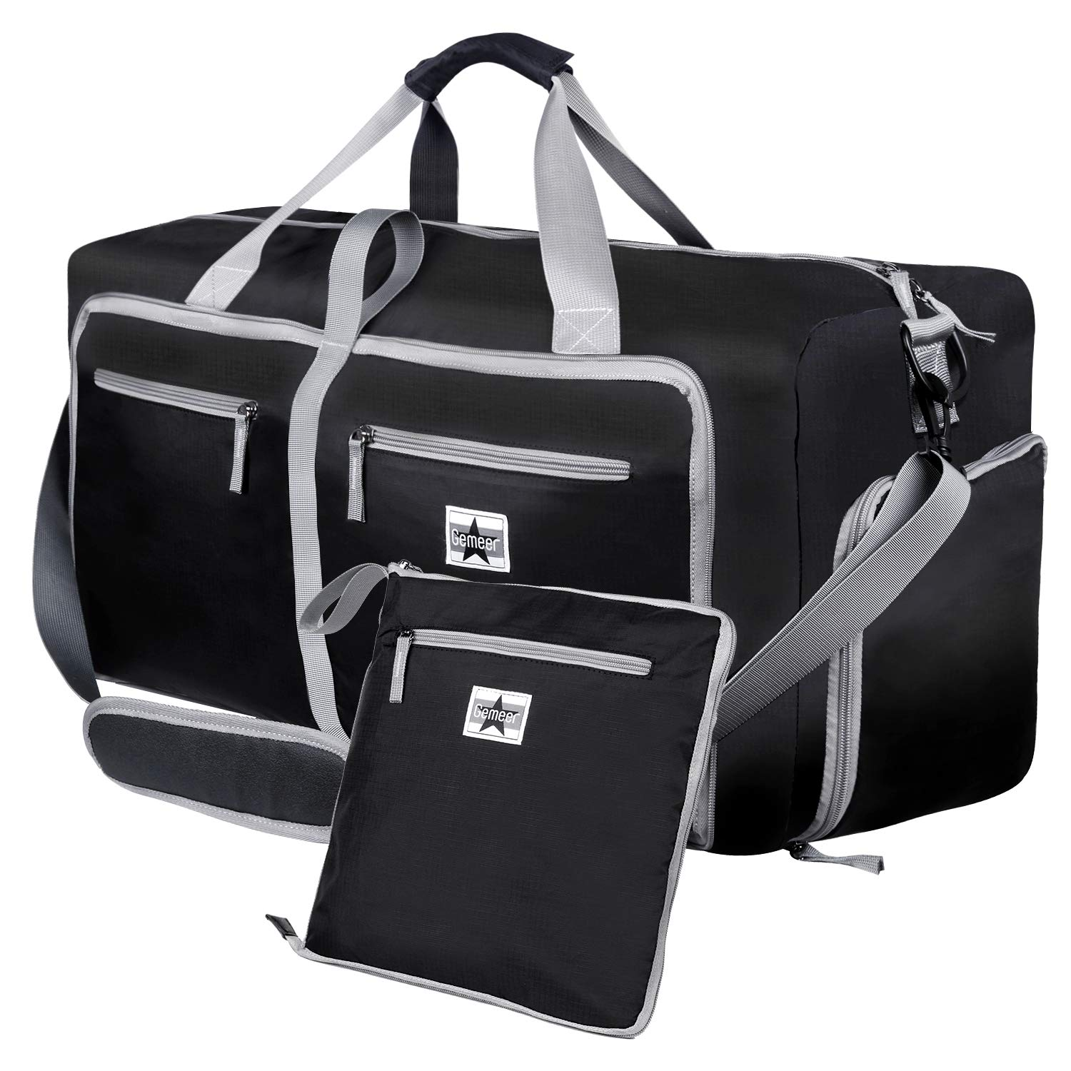 Gemeer Foldable Travel Duffle 65L Only for £8.44 (Good Reviews)