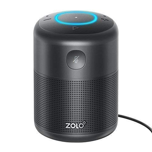 the ZOLO Halo Smart Speaker with Amazon Alexa and Powerful Sound, Voice Control £29.99