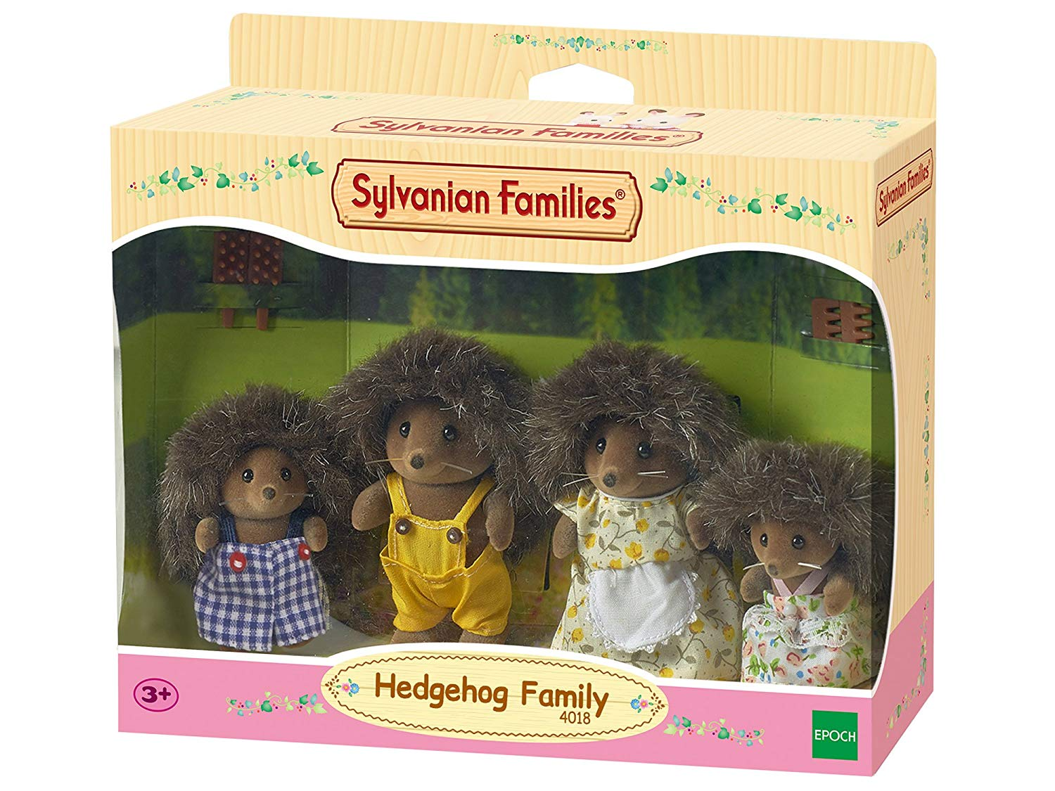 HALF PRICE: Sylvanian Families Hedgehog Family