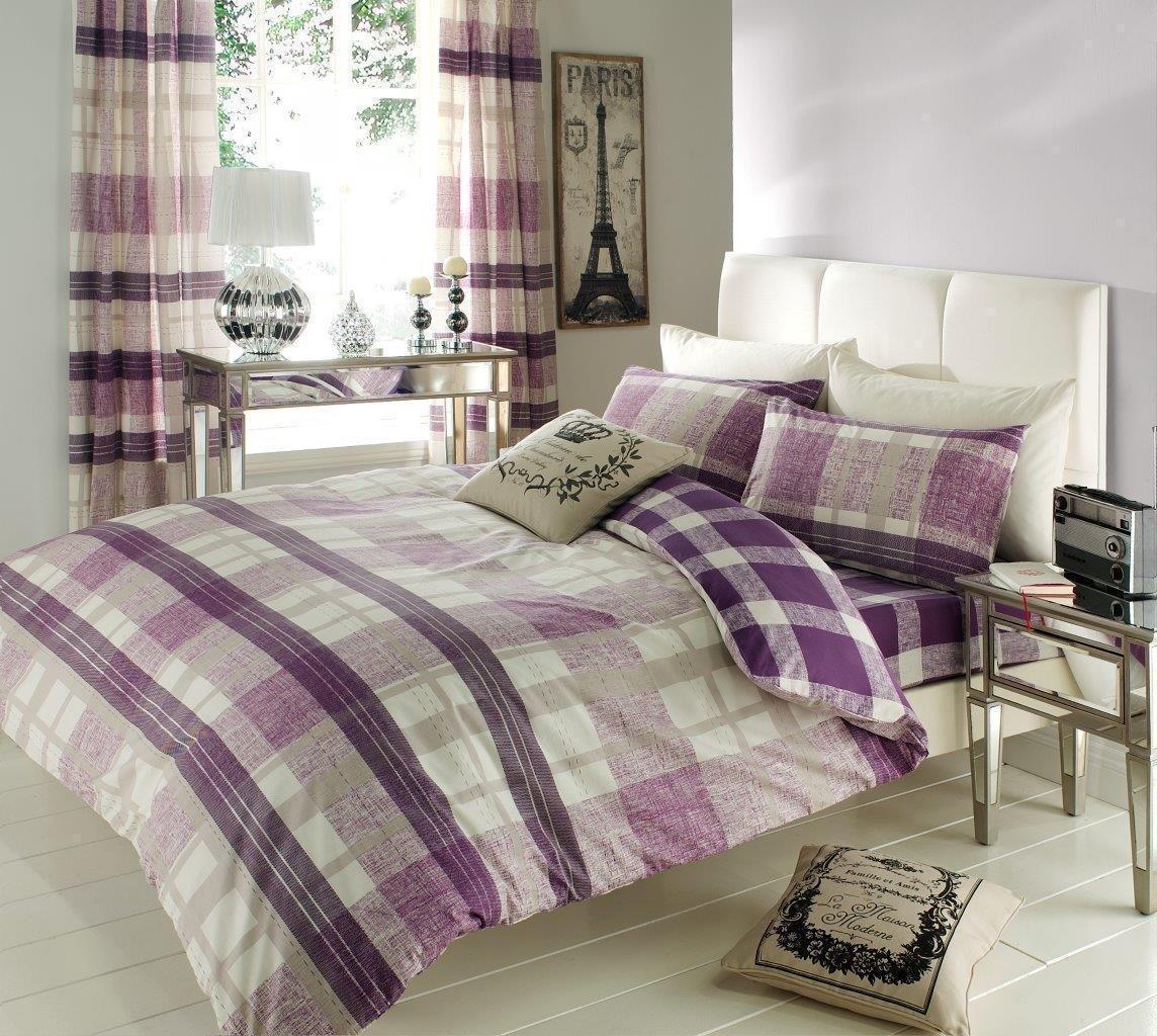 Purple Duvet Set