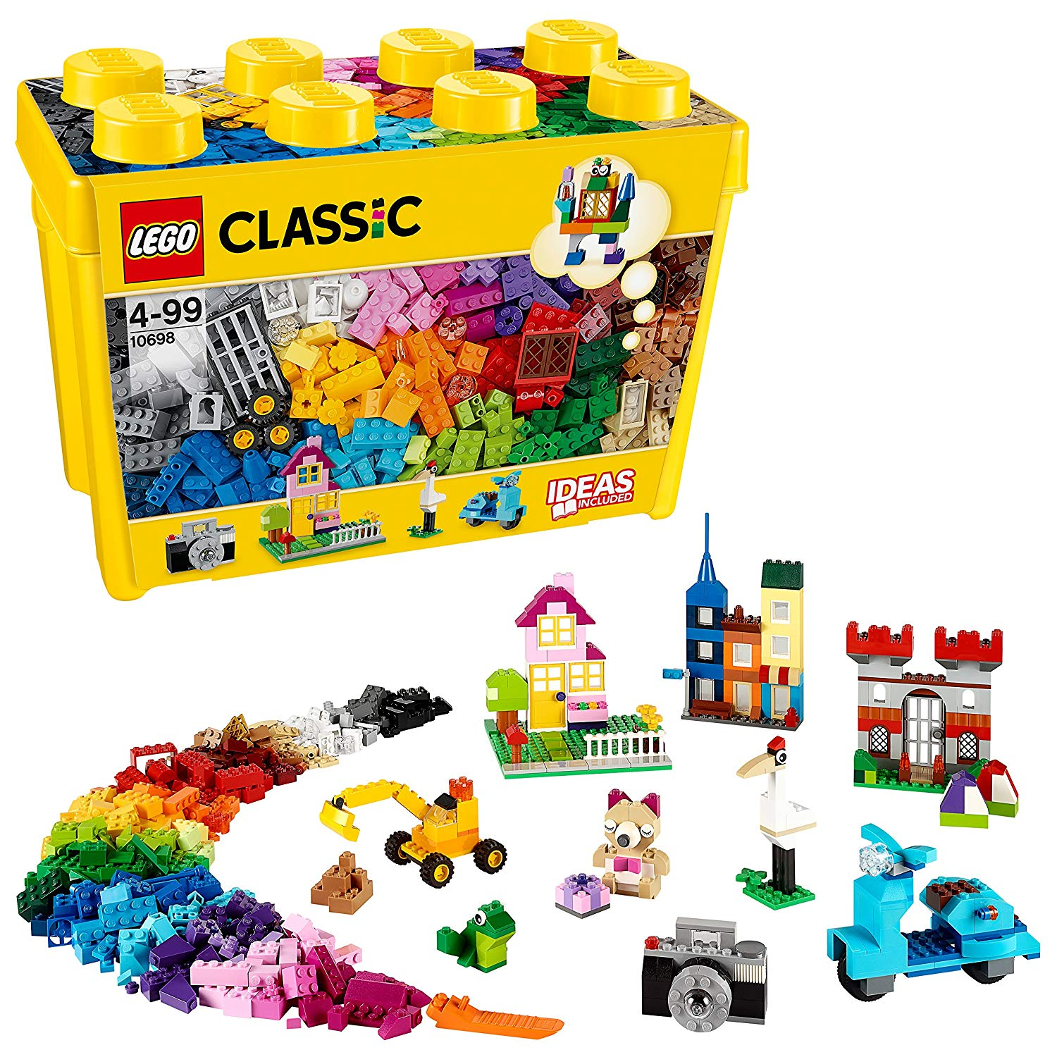 SAVE £8 at Amazon: LEGO 10698 Classic LARGE Creative Brick Box (790 Pieces)
