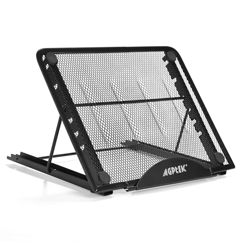 Tablet Light Box Stand , AGPtek Metal Mesh Ventilated