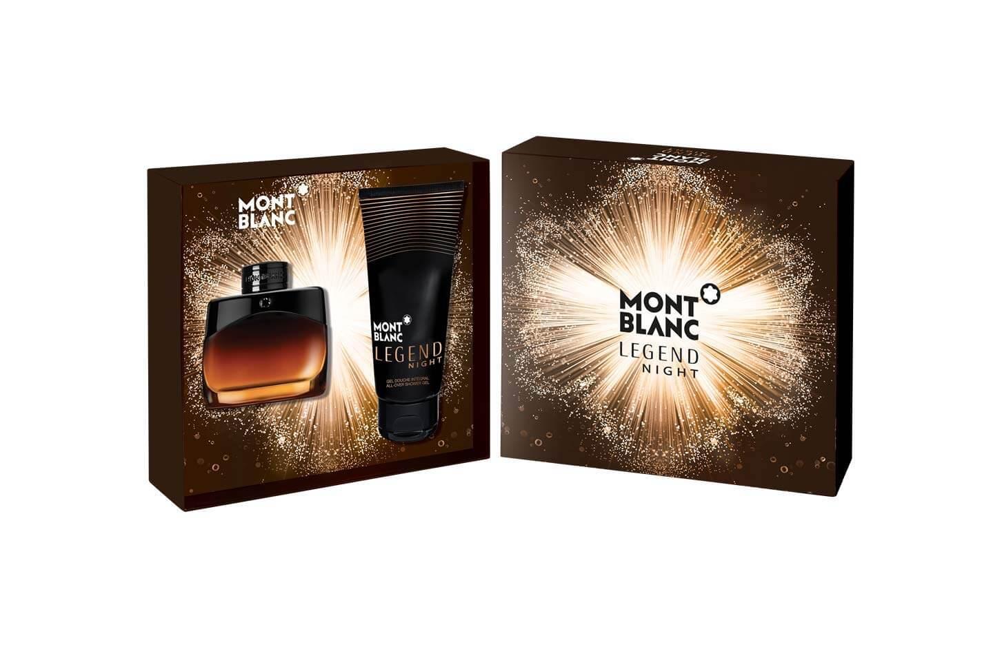 Montblanc Legend Night Gift Set : Eau De Parfum 50ml / Shower Gel 100ml