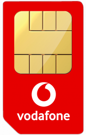 Vodafone Sim only offer – 100GB Data, Unltd Mins & Texts £13pm 12 months