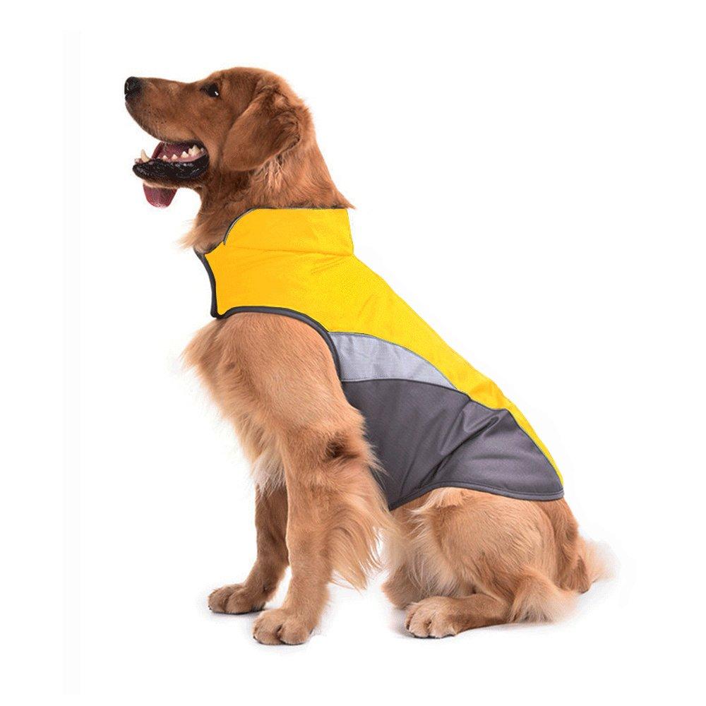 SILD Pet Clothes Dog Winter Warm Jacket For Dog Cold Weather Coat Dog Autumn Windproof Night Reflective Fleece Vest