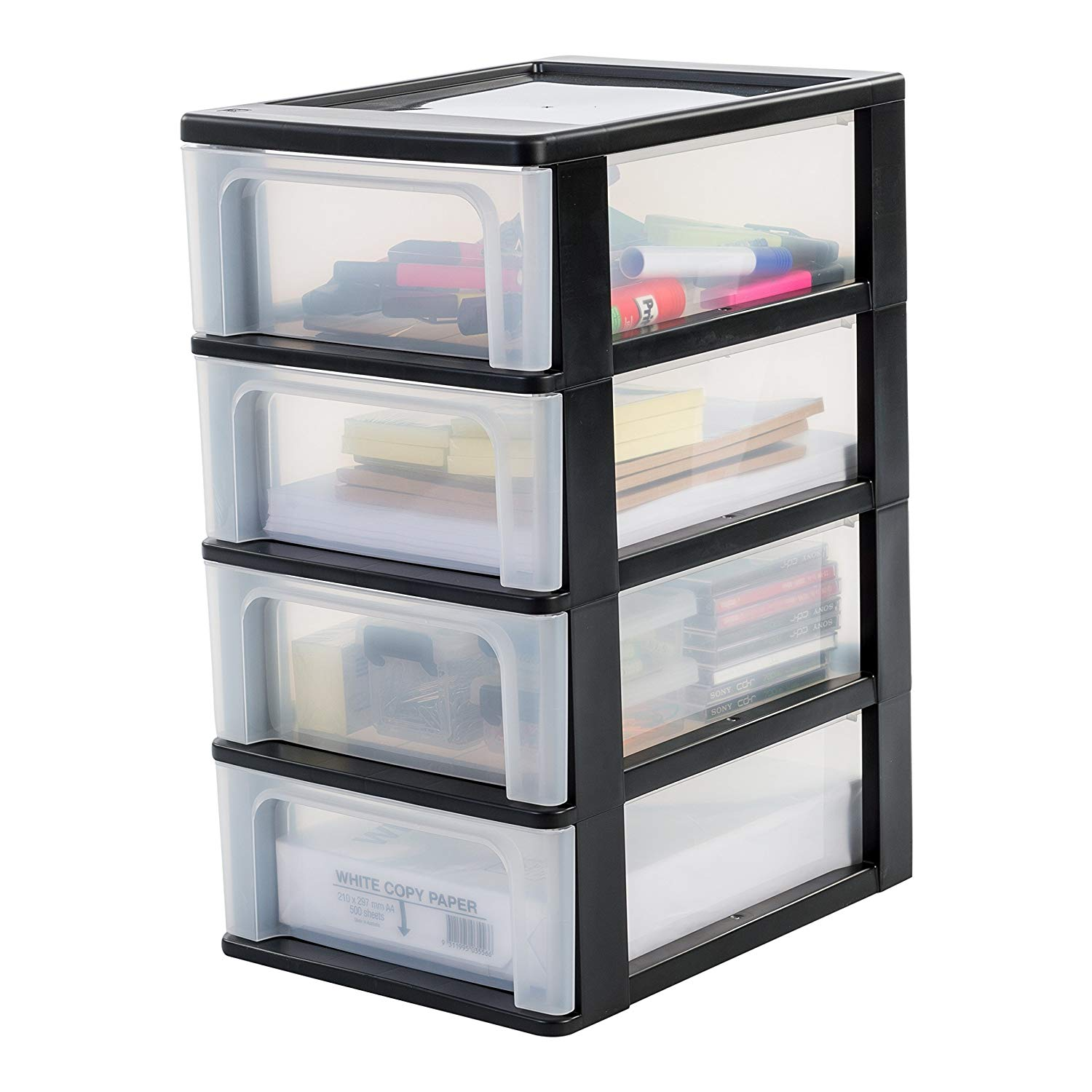Iris Ohyama Europe A- Chest with 4 (Without Wheels) for £19.19