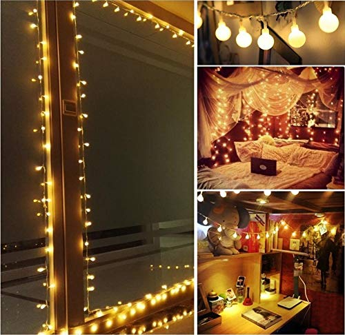 Anpress Globe LED String Light 33 ft 100 LEDs with Remote Controller for £6.50