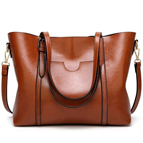 BestoU Handbags for Ladies PU Leather