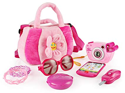 SainSmart Jr. My First Purse Pretend Playset Pretty Purse Set