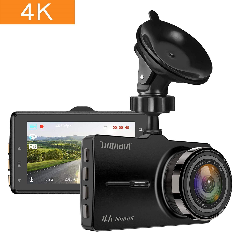 TOGUARD Dash Cam 4K in Car Ultra HD Car Camera Driving Video Recorder